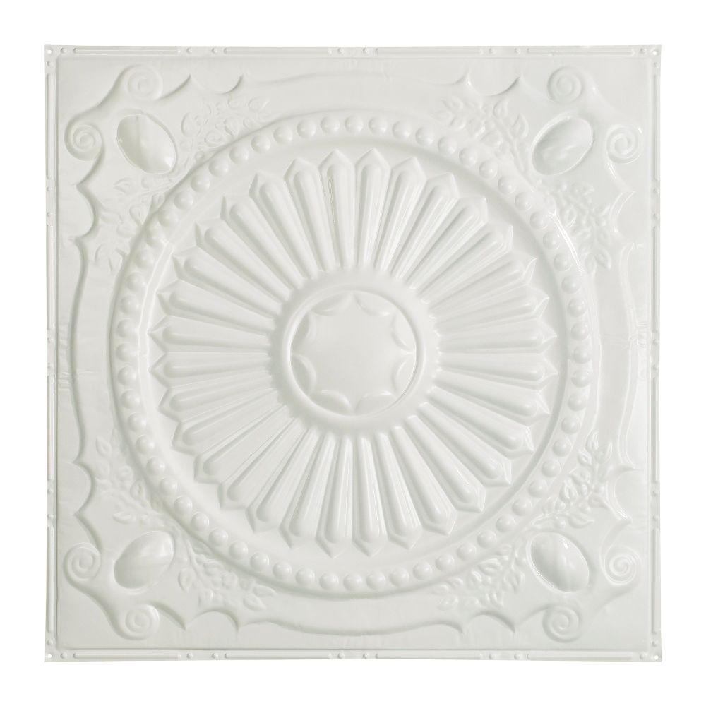 Great lakes tin toronto 2 ft x 2 ft nail up tin ceiling tile in this review is fromtoronto 2 ft x 2 ft nail up tin ceiling tile in matte white dailygadgetfo Gallery