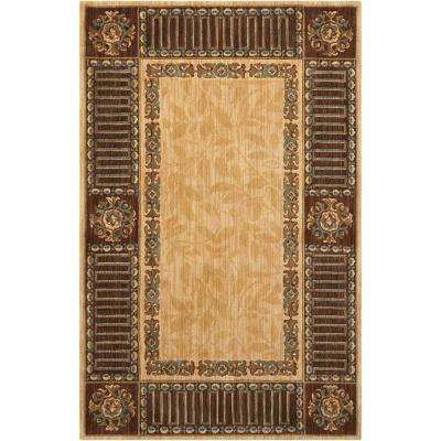 Vallencierre Beige 4 ft. x 6 ft. Area Rug