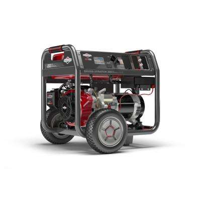 Elite 8,000-Watt Key Electric Start Gasoline Powered Portable Generator with Briggs & Stratton OHV Engine