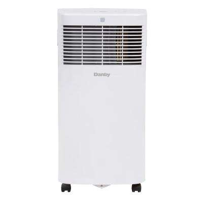 8000 BTU (3800 SACC) Portable Air Conditioner with Dehumidifier in White