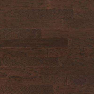 Hickory French Roast 3/4 in. Thick x 4 in. Wide x Random Length Solid Real Hardwood Flooring (21 sq. ft. / case)