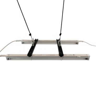 Lamp Bracket Kit with Two 2 ft. T5 Lamps and Safety Wire