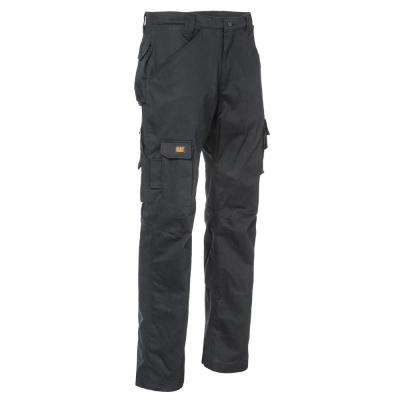 Flame Resistant Men's 32 in. W x 32 in. L Black Cotton/Nylon FR Cargo Work Pant