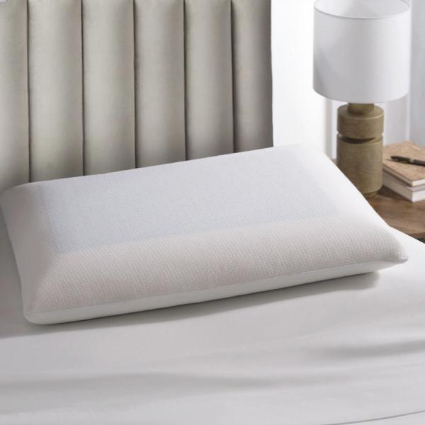 Cool Gel Memory Foam Jumbo Pillow With Coolmax Protector