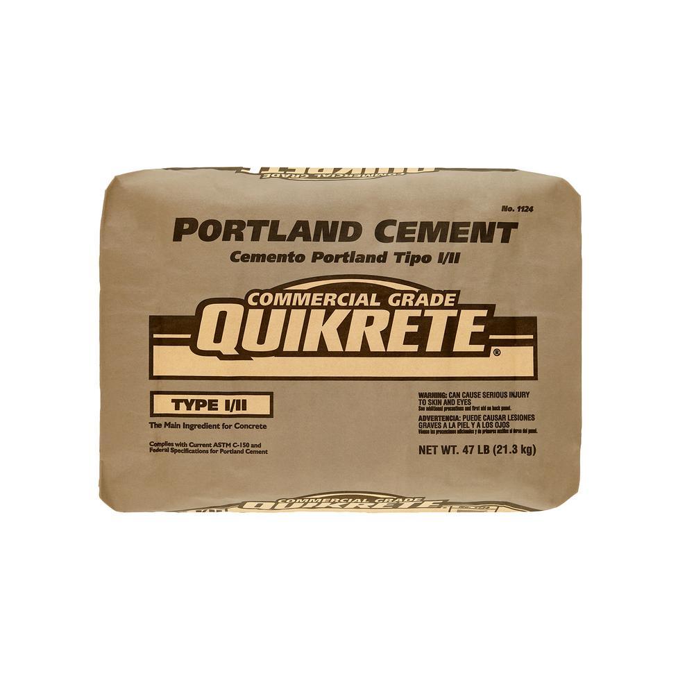 quikrete 47 lb portland cement concrete mix 112447 the home depot