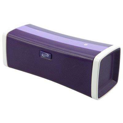 Portable Bluetooth Speaker with Rechargeable Battery, Purple