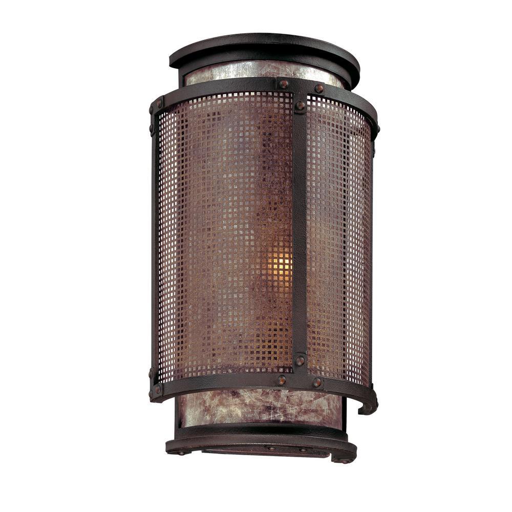 Troy Lighting Copper Mountain 1 Light Bronze Sconce