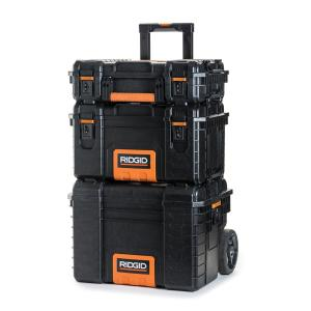 Deals on RIDGID PRO Tool Storage System (3-Piece)