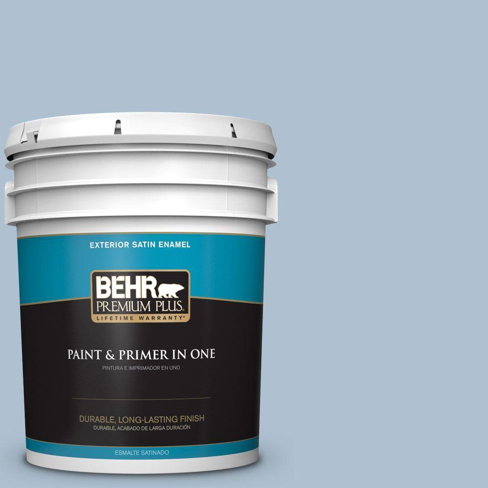 BEHR Premium Plus 5-gal. #S510-2 Boot Cut Satin Enamel Exterior Paint
