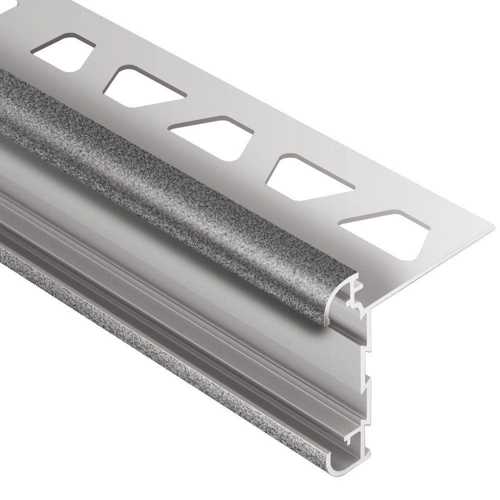 Schluter Rondec-CT Pewter Textured Color-Coated Aluminum 1
