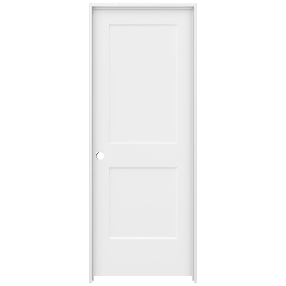 JELD-WEN 2-panel Round Top Single Prehung Interior Door