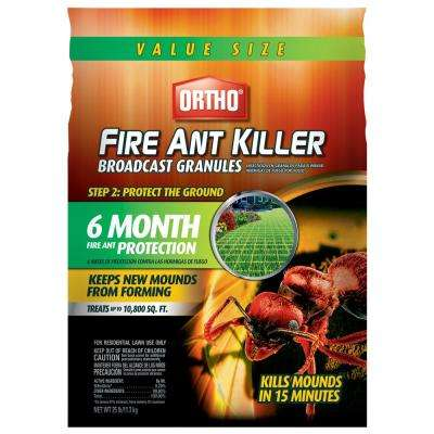25 lbs. Fire Ant Killer Broadcast Granules