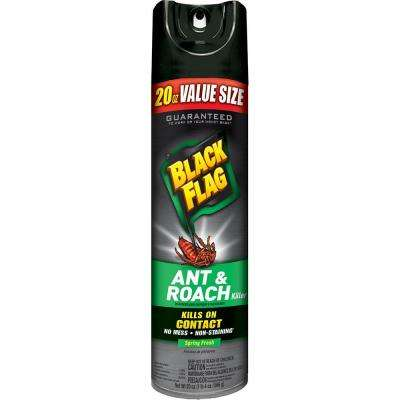 Ant and Roach Killer 20 oz. Aerosol Spring Fresh Scent Spray Bonus