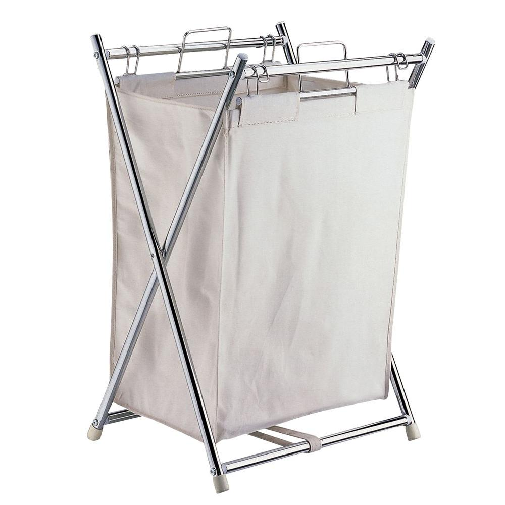 Neu Home Folding Hamper with Canvas Pull-Out Bag-5760W-1 - The Home ...