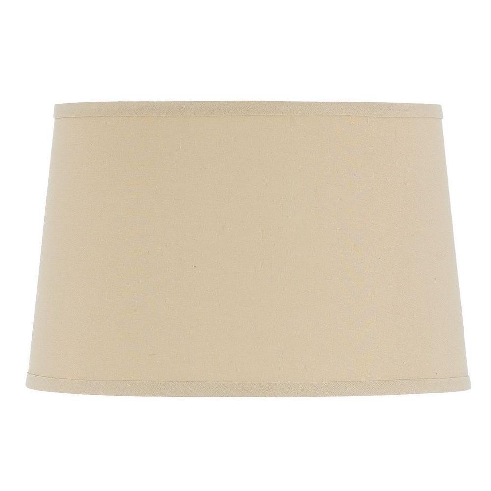 Cal Lighting Drum Hardback Linen Shade Sh 1411 The Home