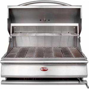 Cal Flame G-Series 31 inch Built-In Stainless Steel Charcoal Grill from Charcoal Grills
