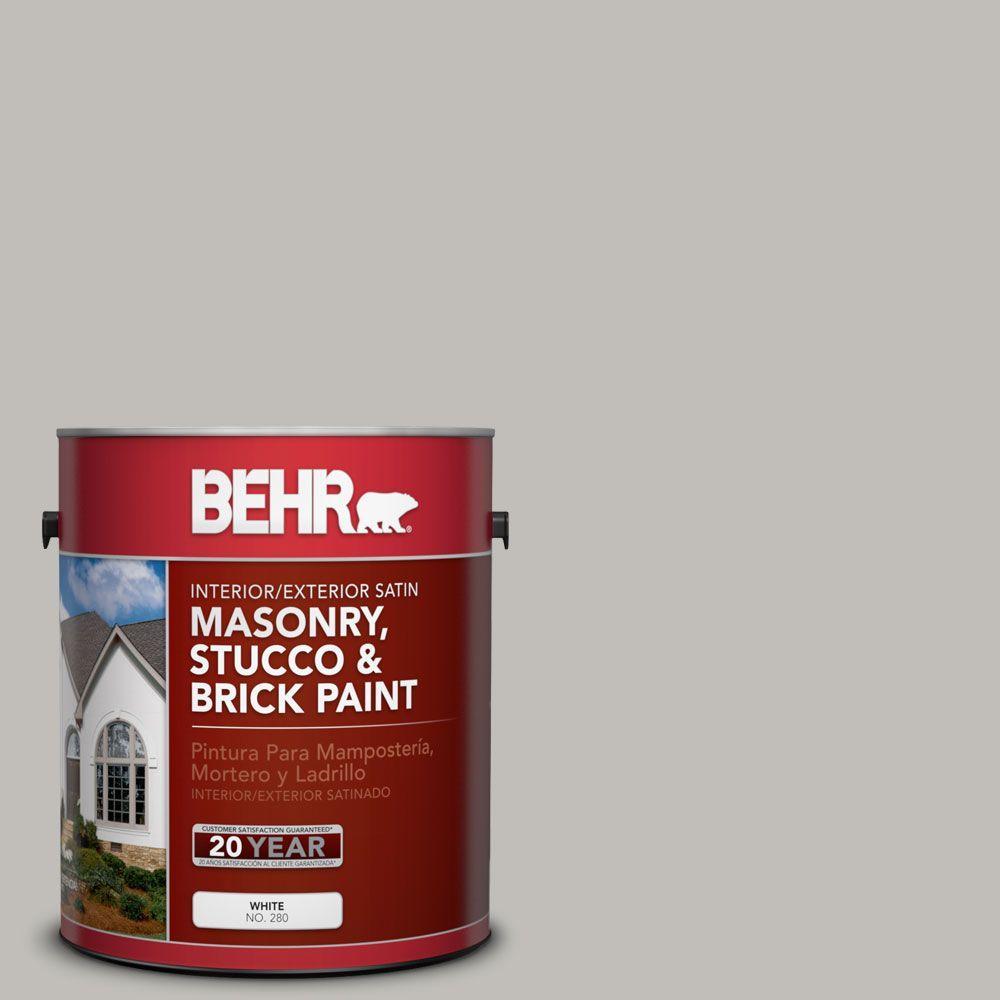 1 gal. #MS-80 Granite Satin Interior/Exterior Masonry, Stucco and Brick Paint