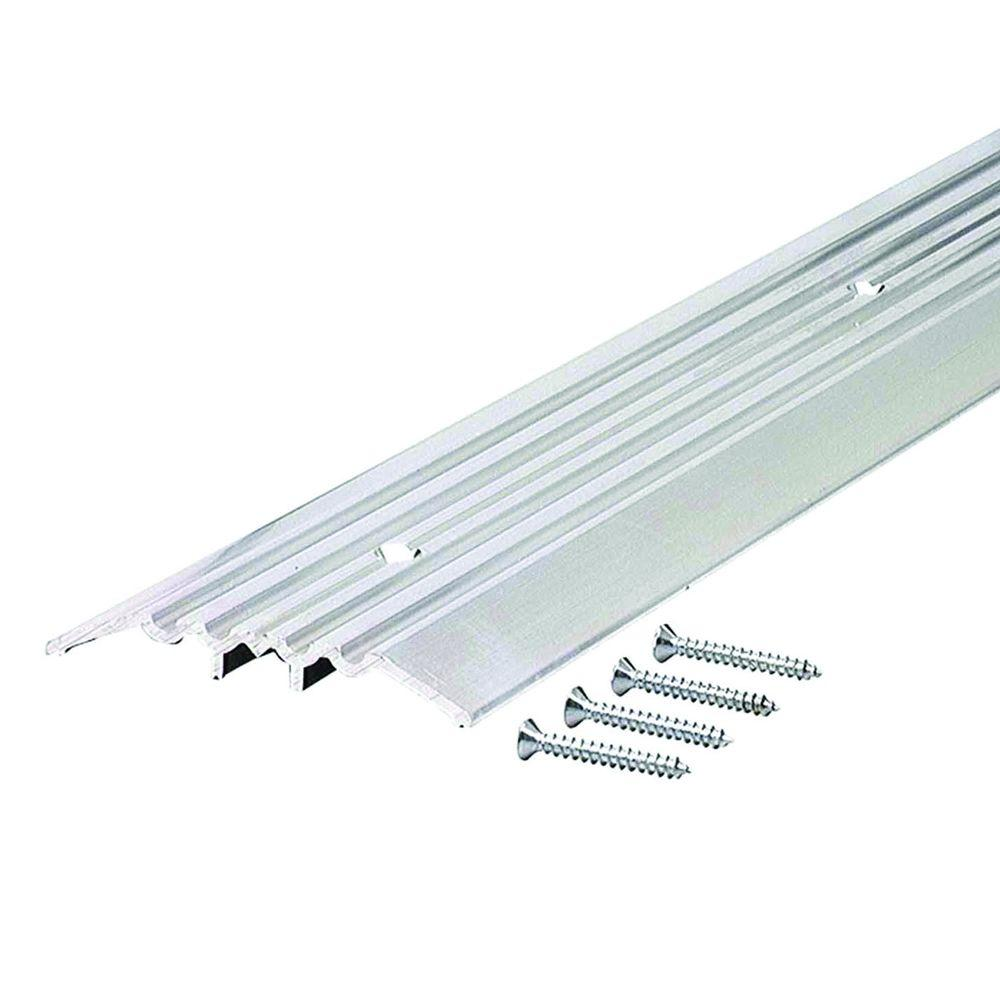Heavy Duty Fluted Top 4 in. x 32-1/2 in. Aluminum Commercial