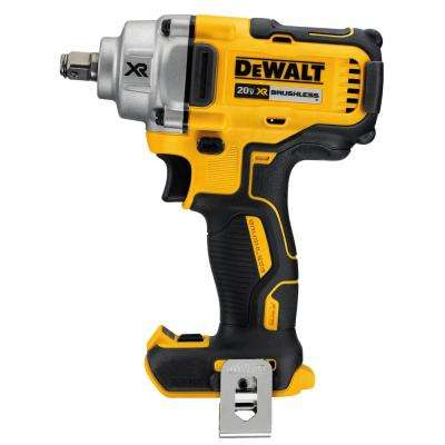 20-Volt MAX Lithium-Ion Cordless 1/2 in. Impact Wrench with Hog Ring Anvil (Tool-Only)