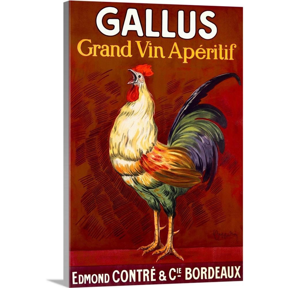GreatBigCanvas ''Gallus Vintage Vintage Advertising Poster'' by Great BIG Canvas