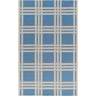 Bryn Bright Blue 5 ft. x 7 ft. 6 in. Area Rug