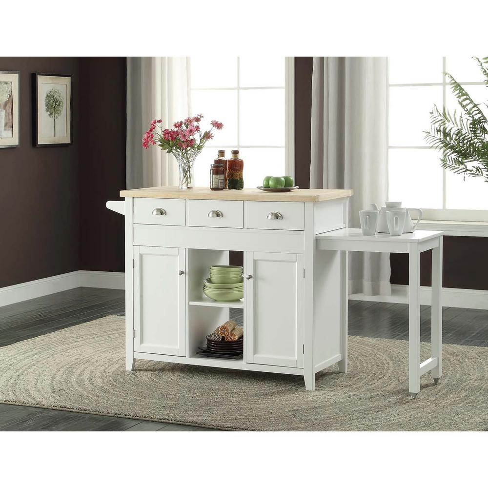 linon home decor kitchen island white linon home decor white kitchen cart with towel 13513