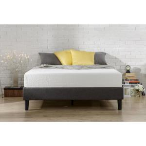Zinus Essential Upholstered Platform Bed Frame Mattress