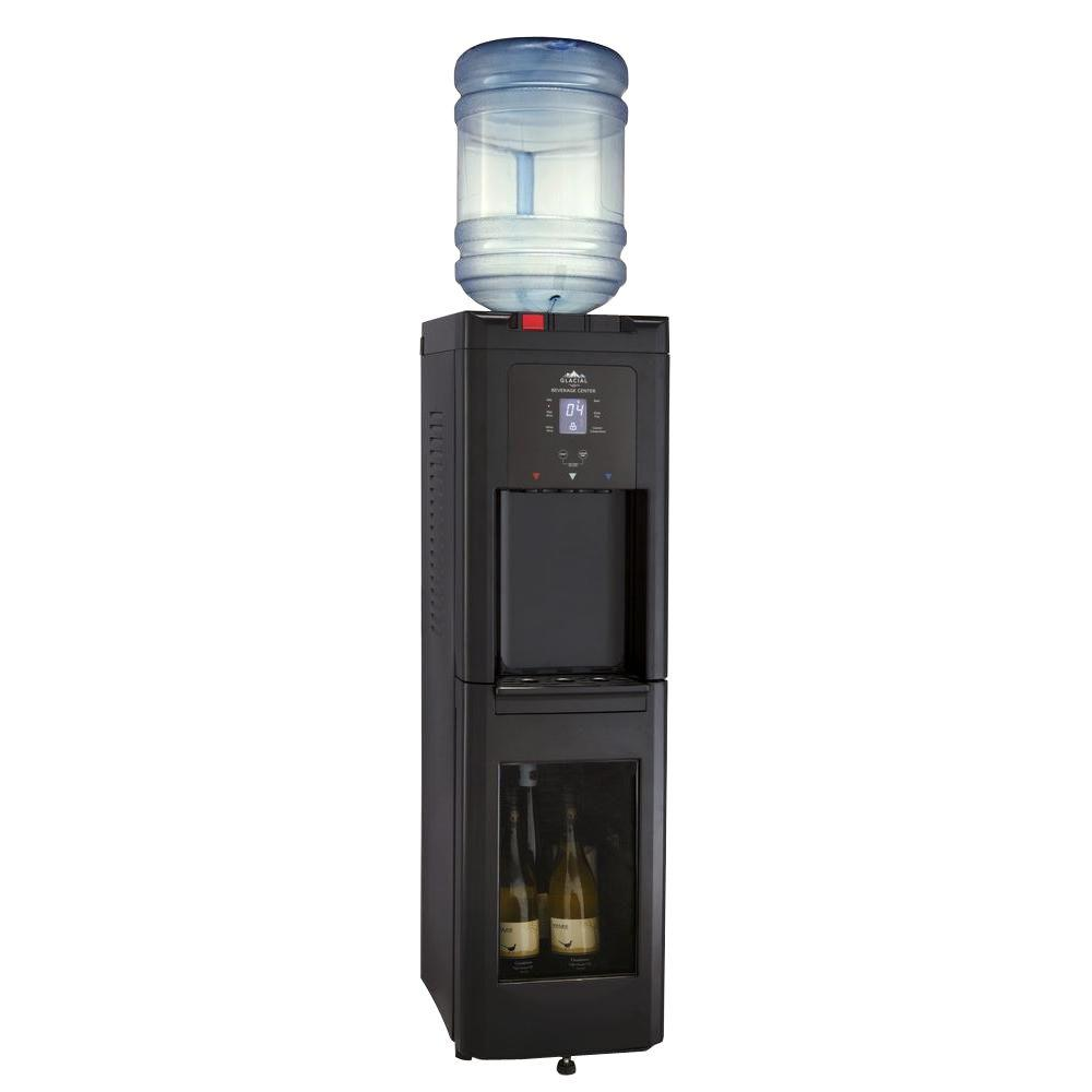 Glacial Wine Cellar Self Cleaning Water Cooler Hot, Cool and Cold