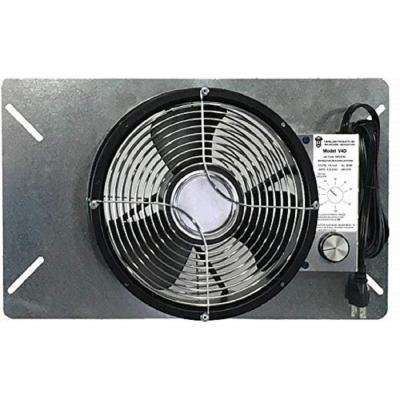 18 in. x 4 in. x 11 in. Moisture Mold Reducing UnderAire Crawlspace Ventilator Fan