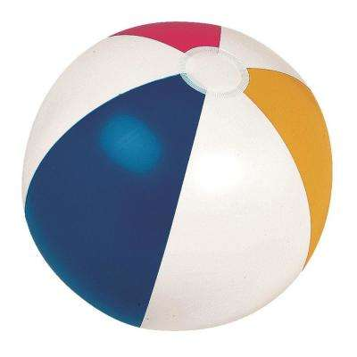 20 in. Classic Inflatable 6-Panel Beach Ball