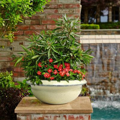 16 in. Dia Ceramix Sydney Bowl Pot