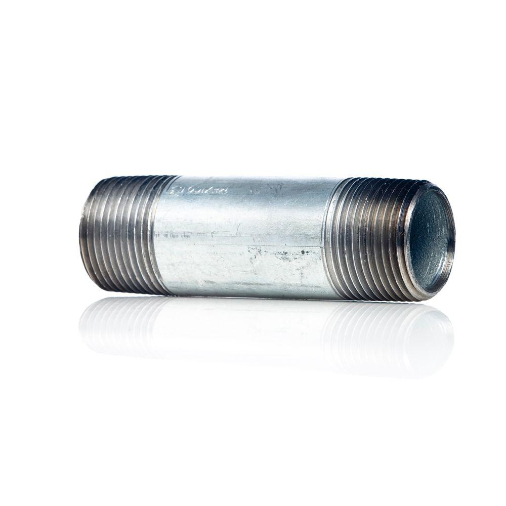 3/4 in. x 4 in. Galvanized Steel L&R Nipple