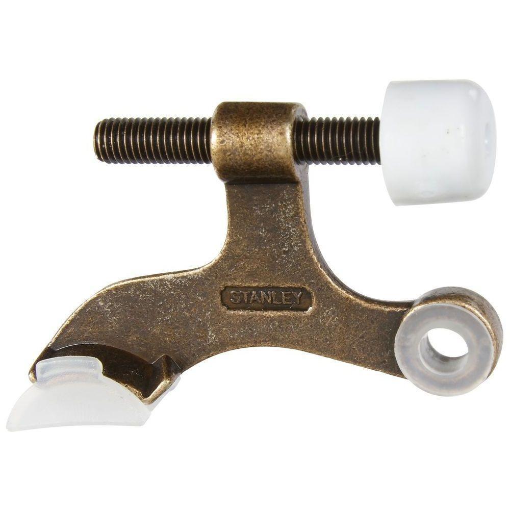 1.8 in. Residential Distressed Antique Bronze Hinge Pin Door Stop
