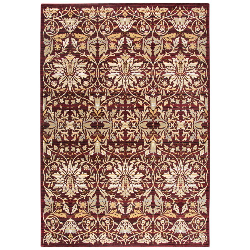 Rizzy Home Zenith Red Multi 10 Ft. X 13 Ft. Area Rug