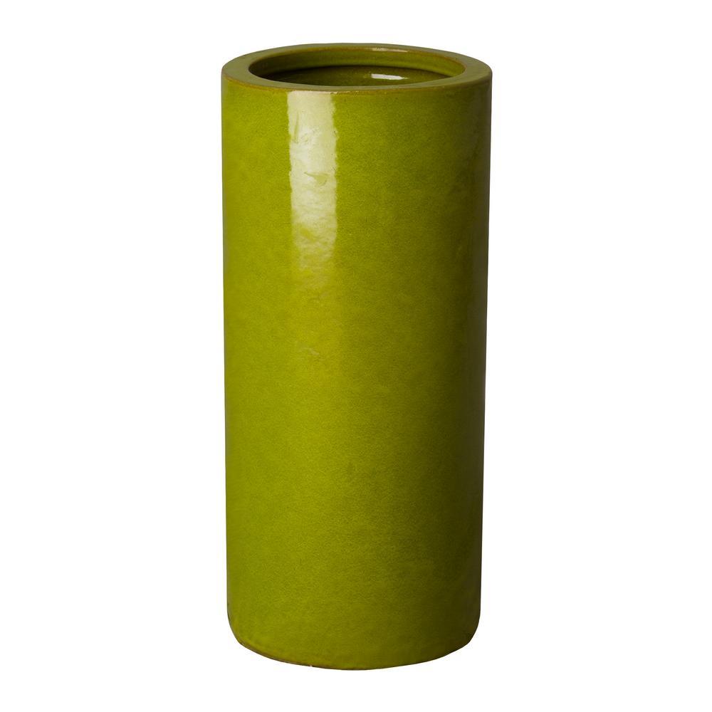 Green Ceramic Umbrella Stand