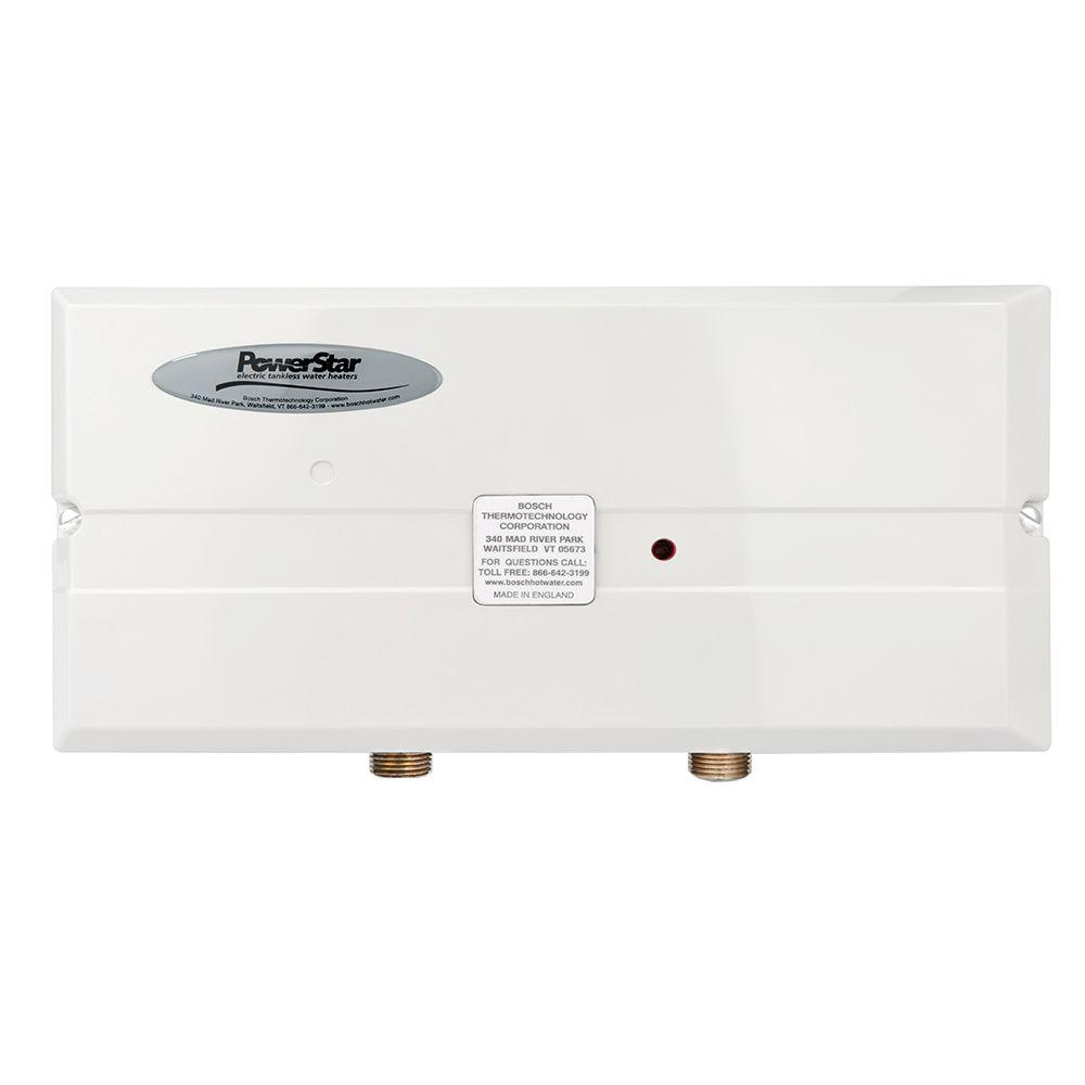 powerstar 95 kw 240 volt 12 gpm pointofuse tankless electric water heaterae95 the home depot
