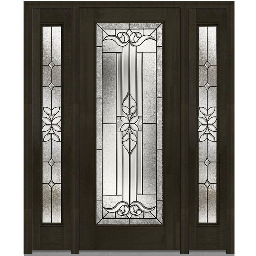 MMI Door 68.5 In. X 81.75 In. Cadence Decorative Glass