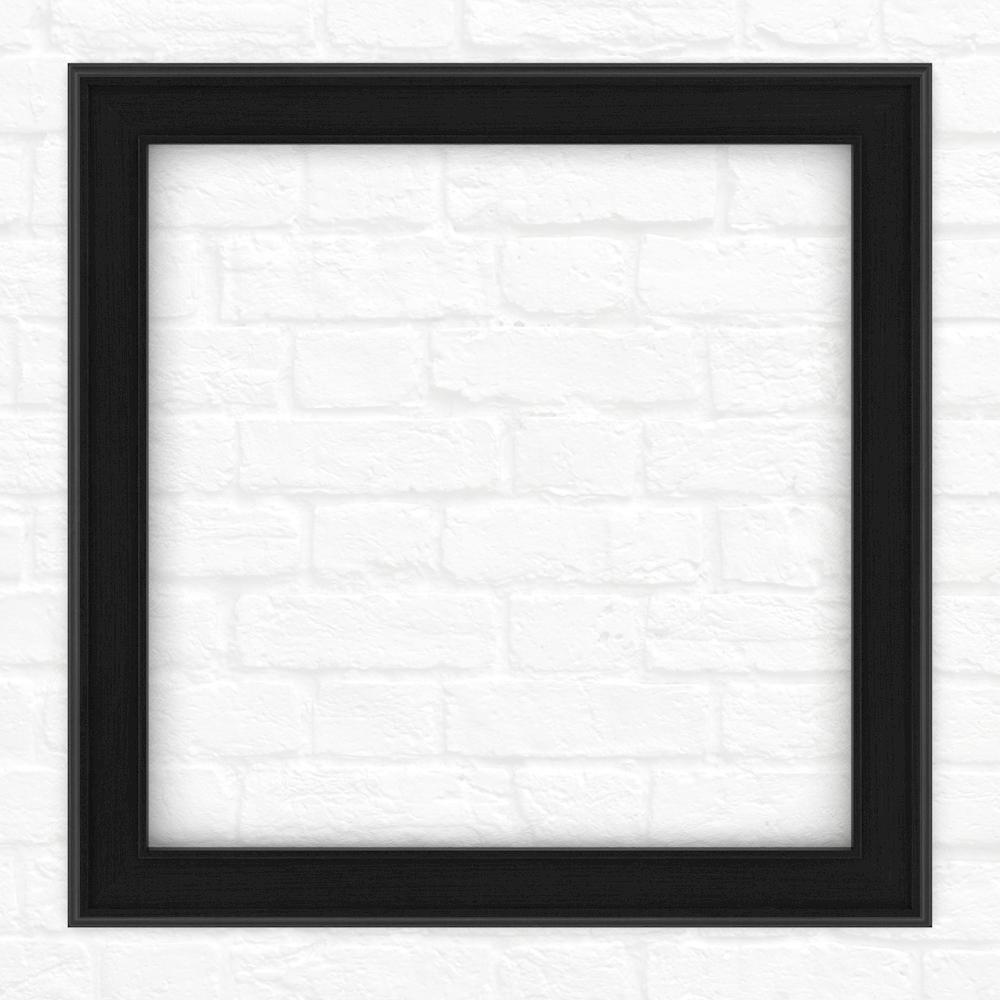 Delta 33 inch x 33 inch (L2) Square Mirror Frame in Matte Black by Delta