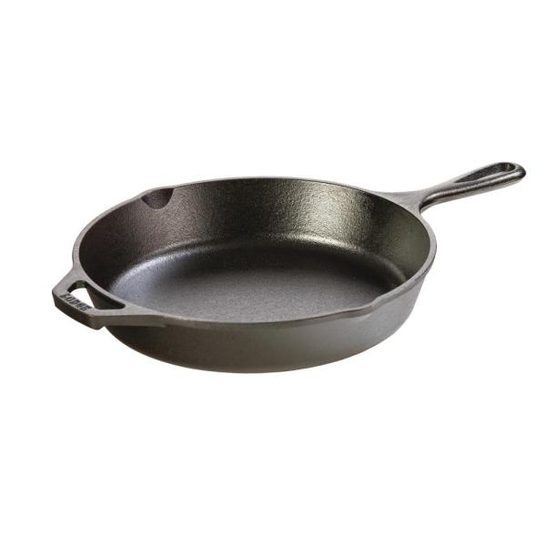 Lodge 10.25 in. Cast Iron Skillet L8SK3