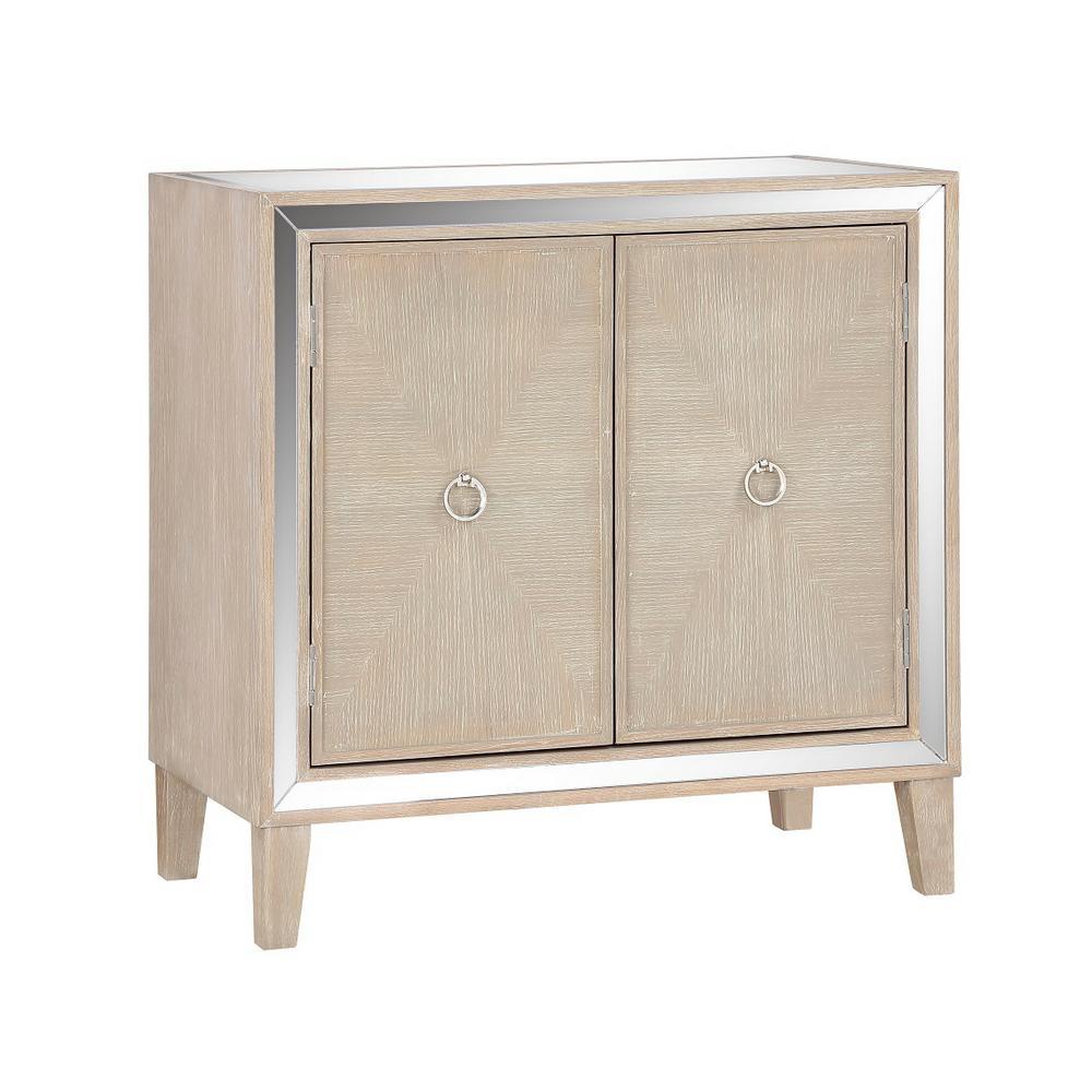 Heaton Light Brown 2-Door Cabinet