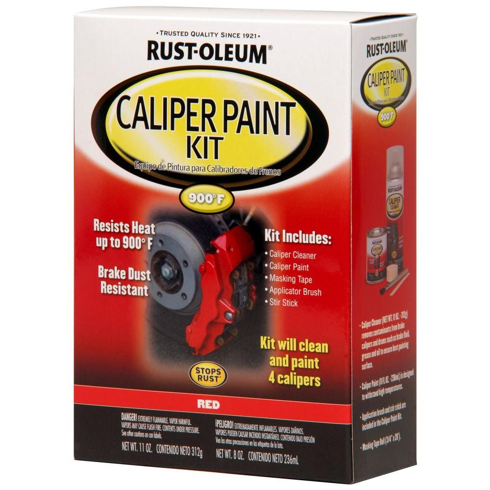 Rustoleum Spray Paint Brake Calipers