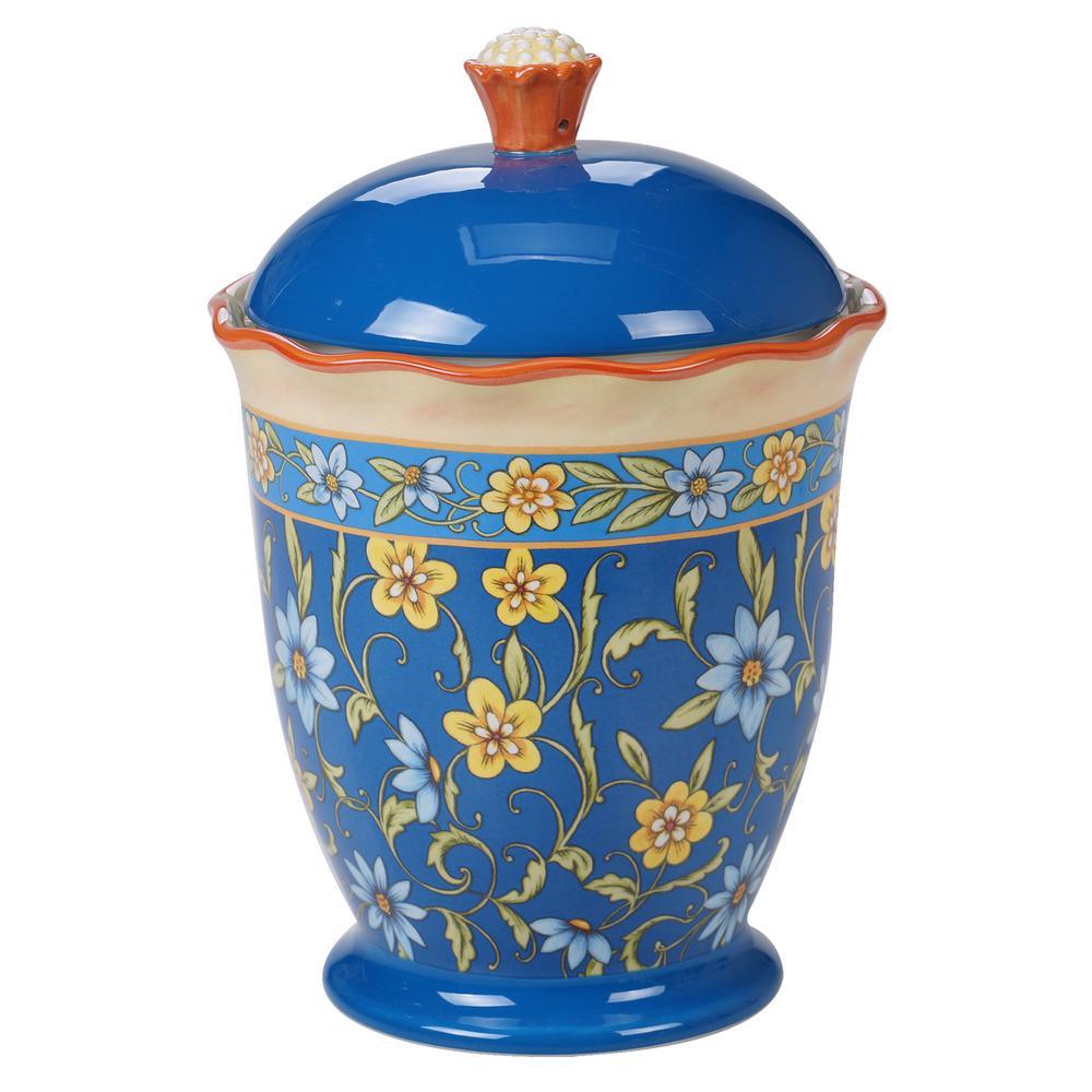 Torino Multi-Colored 10.5 in. Biscuit Jar