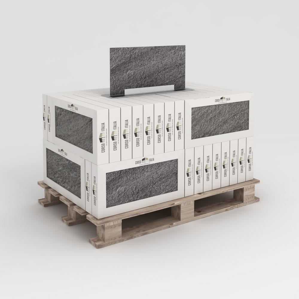 Alpe Silver 12 in. x 24 in. Porcelain Floor Tile (542.4 sq. ft. / pallet)