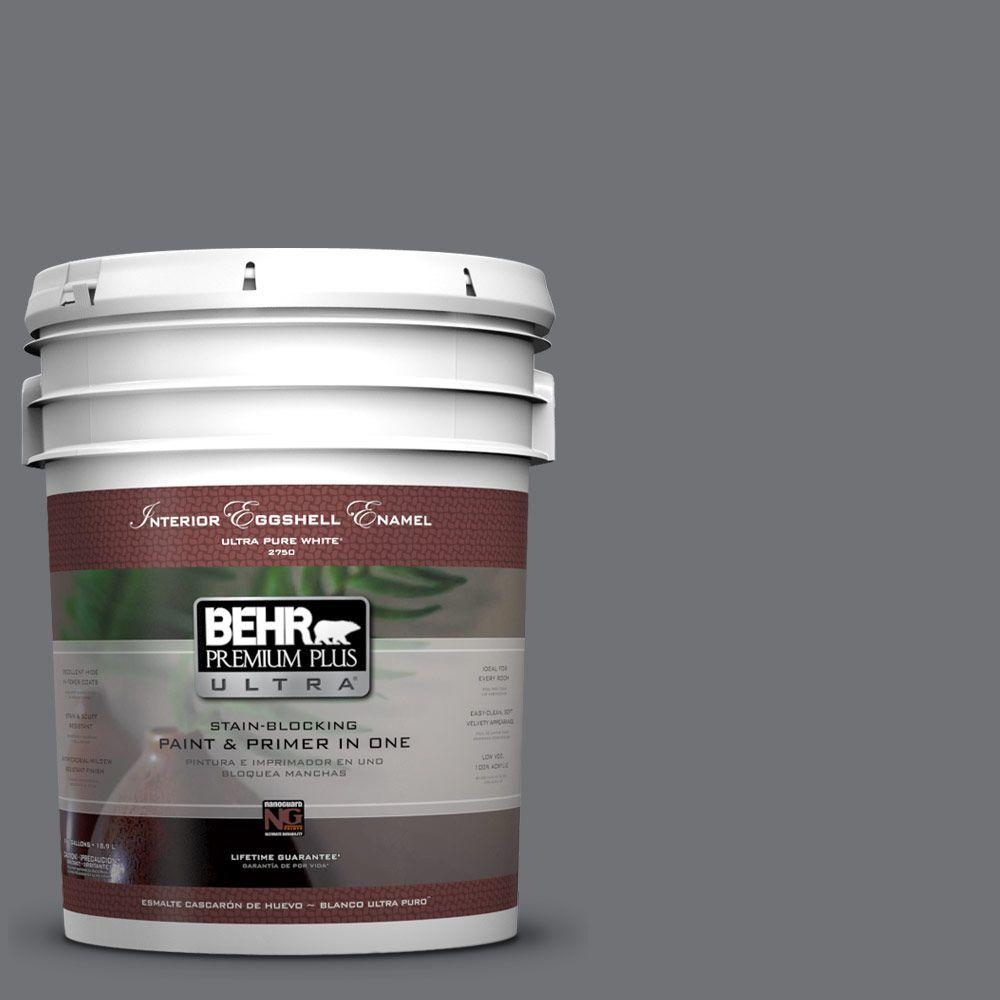 BEHR Premium Plus Ultra 5-gal. #PPU18-3 Antique Tin Eggshell Enamel Interior Paint