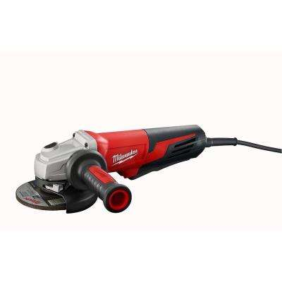 13 Amp 5 in. Small Angle Grinder with Lock-On Paddle Switch