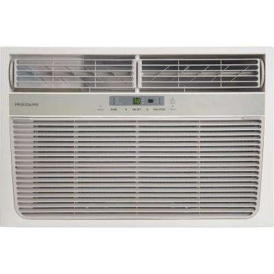 8,000 BTU Compact Window Air Conditioner with Heat and Remote Control