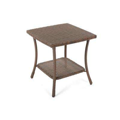 Leisure Wicker Outdoor Side Table
