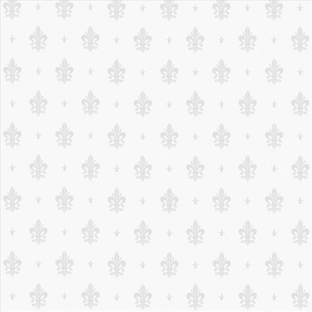 12 in. x 78 in. Fleur-de-Lis Privacy Decorative Sidelight Window Film
