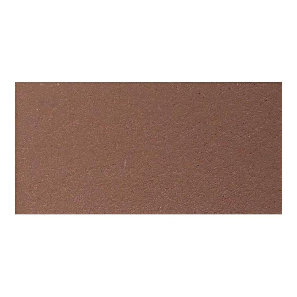 Quarry Diablo Red 4 in. x 8 in. Ceramic Floor and