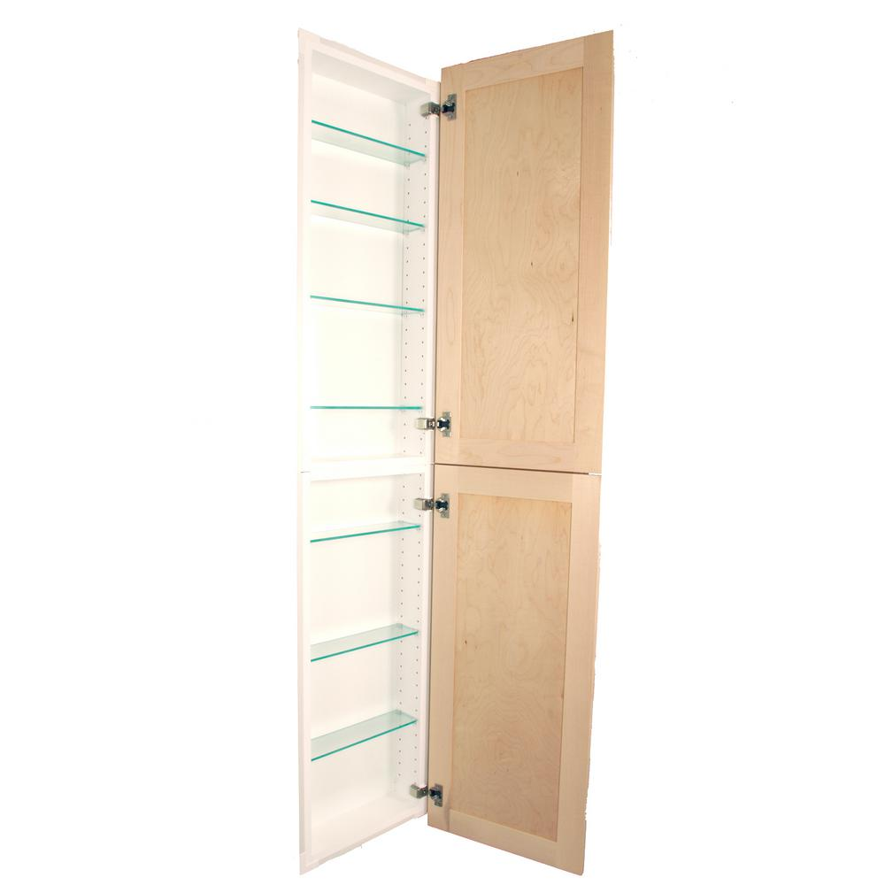 Silverton 14 In X 68 4 Frameless Recessed Medicine Cabinet Pantry